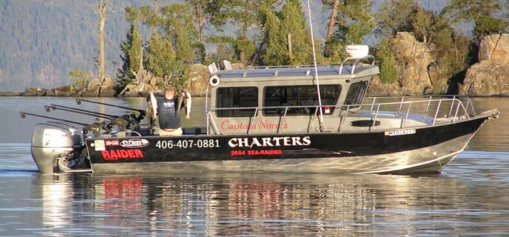 Best Fishing Charter on Montana's Flathead Lake