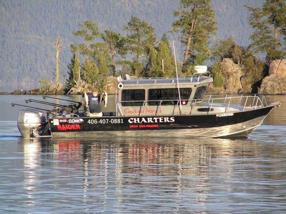 Flathead Lake Fishing Charter
